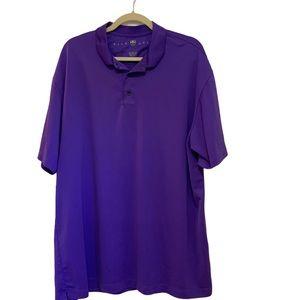 EUC Nike Dri Fit Golf Polo Shirt Size XXL